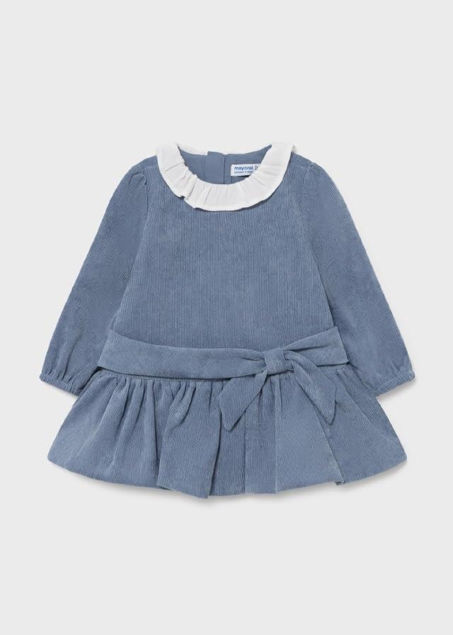 Vestido pana bebé niña mayoral